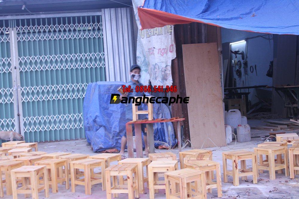 Xưởng sản xuất bàn ghế cafe