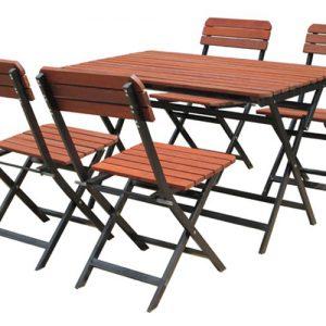 Mẫu bàn ghế BG-133 chắc chắn và bền bỉ